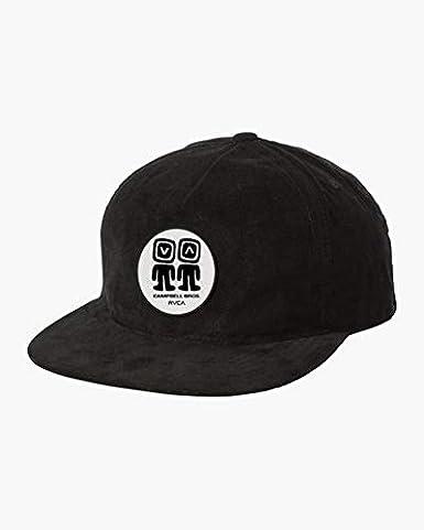 RVCA Mens Campbell Snapback Hat