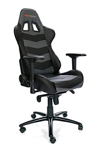 Price comparison product image MAXNOMIC Thunderbolt (Black) Premium Gaming Office & Esports Chair