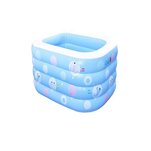 GJFeng Insulation Thickening Baby Swimming Pool Baby Home Swimming Pool Newborn Baby Child Inflatable Swimming tub 120 95 72cm 135 95 58cm (Size : 135cm105cm58cm) by GJFeng (Image #9)