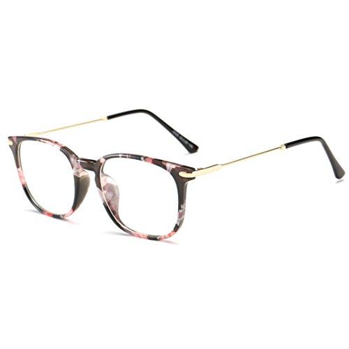Simvey Classic Computer Blue Light Blocking Glasses TR90 Frame Gaming Glasses Unisex