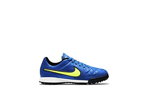 Nike Jr. Tiempo Genio Cuir Tf Enfants Football Turf Taquet