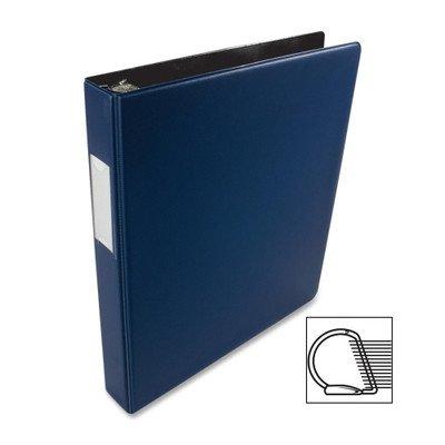 Source Slanted D-Ring Binder [Set of 2] Color: Blue, Size: 1''