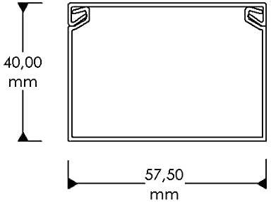 Cable Coach CC10126 L4060BR4 Kabelkanal Braun