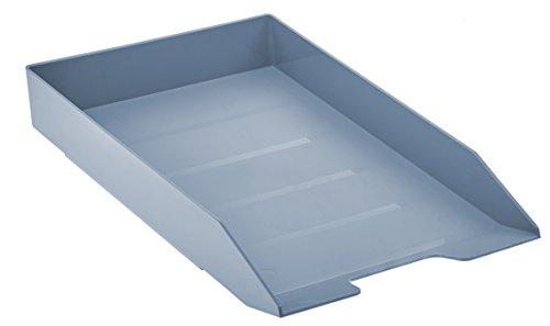 Acrimet Stackable Letter Tray (Solid Blue Color) (1 Unit)