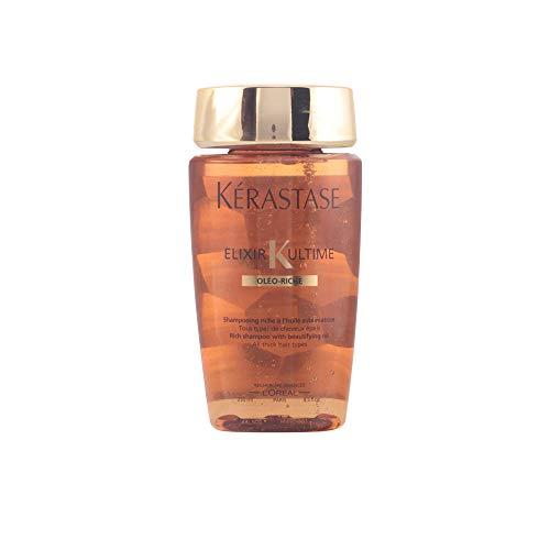 Kerastase Elixir K Ultime Bain Riche Shampoo with Beautifying Oil, 8.5 Ounce - Kerastase Hydrating Shampoo
