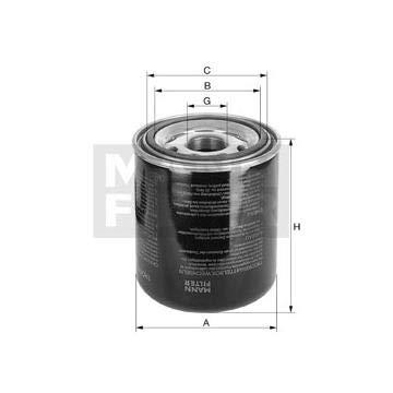 Cartucho del secador de aire. sistema de aire comprimido MANN 65003343: Amazon.es: Coche y moto