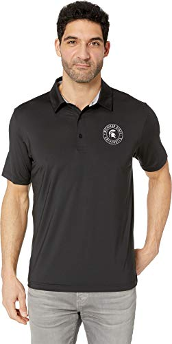 's Michigan State Spartans Solid Polo Black X-Large ()