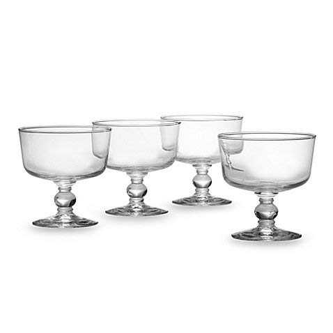 Classic Design Dailyware 4 1/4-Inch Trifle Bowls (Set of 4)