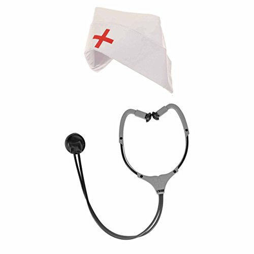 Ricks House Of Horror Nurse Adult Costume Kit - Hat & -