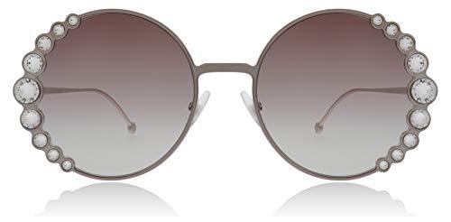 Fendi FF0324/S 35J Pink FF0324/S Round Sunglasses Lens Category 2 Size ()
