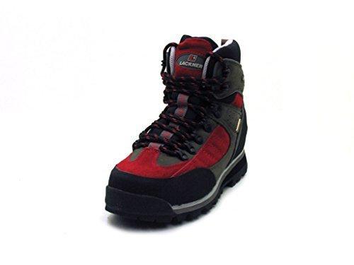 Lackner-trekkingboot-chaussures Rouge - Rouge giAysj