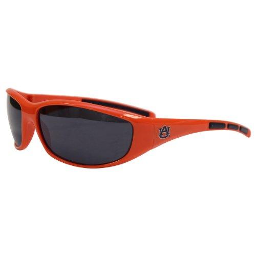 NCAA 3 Dot School Colors and Logo Sport Sunglasses (Auburn - Sunglasses Auburn