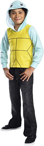 Rubie's Costume Pokemon Squirtle Child Novelty Hoodie Costume, Small]()