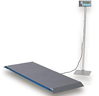 Brecknell scales 816965001460 1000 x 0 5 lb floor scales for 1000 lb floor scale
