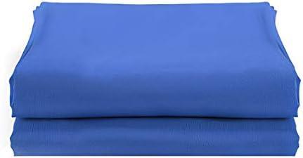ODIN-Background - خلفية التصوير الفوتوغرافي 300 * 200 سم خلفية ناعمة لتصوير استوديو الفيديو لون أخضر شاشة كروماكي (أزرق)