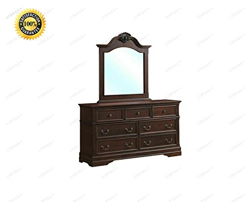(LIBYOU_Drawer Dresser, Mirror Set Chest Cabinet, Bedroom Furniture Storage,Storage Cabinet,Drawers Chest Organizer, Dresser Cabinet,Bedroom Furniture,Drawers Chest Dresser,Dresser)