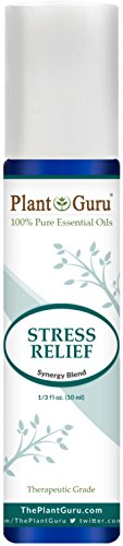 Stress Relief Synergy Essential Oil Blend Roll On 10 ml. Pre