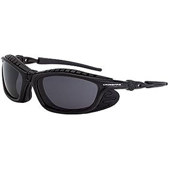 Crossfire Eyewear 2641 AF Eclipse Foam Lined Safety Glasses with Black/Smoke AF