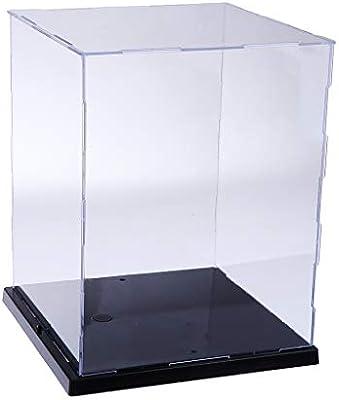 Toygogo Caja Transparente A Prueba De Polvo Modelo De Vitrina con ...