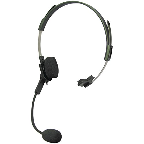 Motorola 53725 SLK Headset with Swivel Boom Mic  Black