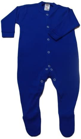 British made BabywearUK Royal blue sleepsuit 3//6 months