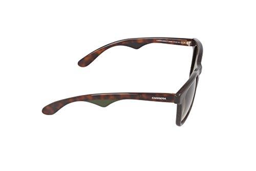 Carrera - Lunette de soleil  6000L/N Rectangulaire Noir (Dark Brown Havana)