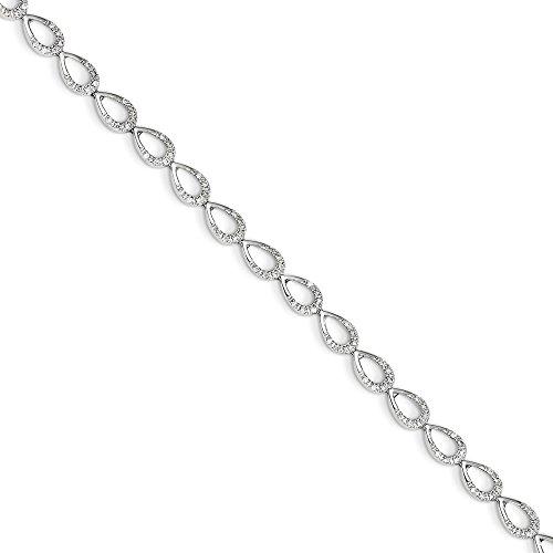 0.5 Ct Diamond Bracelet - 7