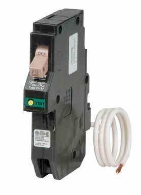 Cutler Hammer Single Pole AFCI Circuit Breaker, CHFCAF120
