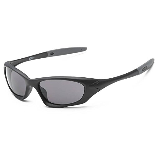 SACAS Active Sport Collection Maximum UV Protection Sunglasses UNBREAKBLE TR90 Frame in Matte Black - Hilton Sunglasses Head