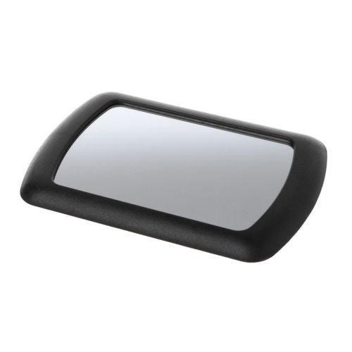 TRUE LINE Automotive Car Sun Visor Clip On Mirror Makeup Sun-Shading Cosmetic Black Mirror ()