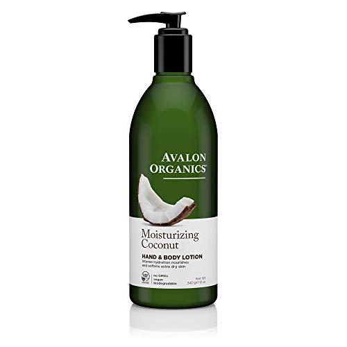 (Avalon Organics Moisturizing Coconut Hand & Body Lotion, 12 oz.)