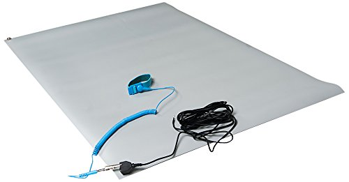Bertech ESD Mat Kit with a Wrist Strap and a Grounding Co...
