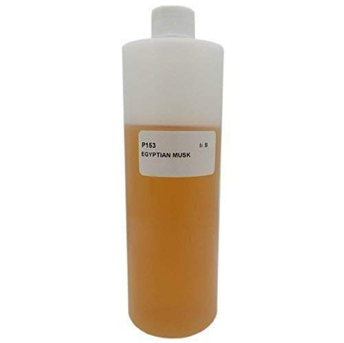 Egyptian Musk Scented Oil - 4 oz, Light Brown - Bargz Perfume - Egyptian Musk Body Oil Scented Fragrance