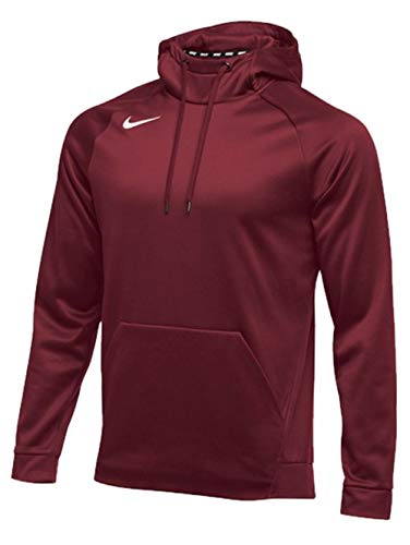 Nike Mens Therma Hoodie PO (X-Large, Cardinal)