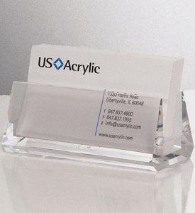 Acrylic Business Card Holder (Clear) (1.5