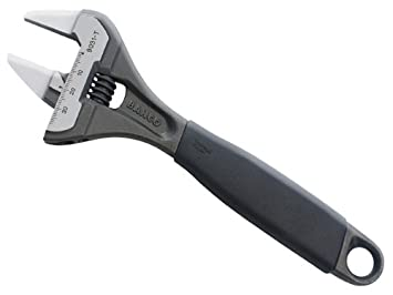 Bahco 9029TT thin jaw  thin jaw big mouth adjustable wrench  6-Inch