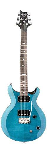 PRS SE Santana Electric Guitar Bundle with SE Gig Bag (Sapphire)