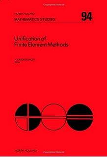 unification of finite element methods kardestuncer h