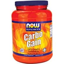 Now Foods Carbo Gain 100% Complex Carbohydrate - 2 lbs. 3 Pack