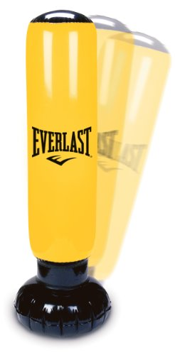 Everlast Power Tower Inflatable Punch Bag (Yellow)