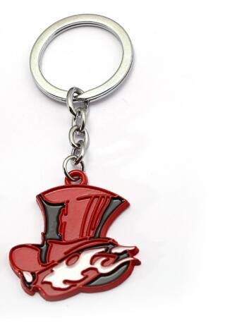 Amazon.com: FITIONS - Anime Persona P5 Keychains Red Heart ...