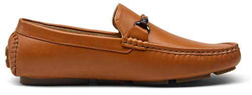 VOSTEY Men's Boat Shoes Handsewn Loafers Casual Slip On Driving Shoes