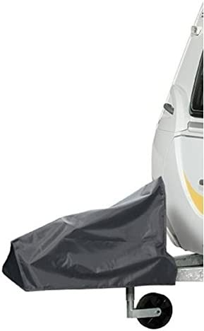 Wing Mirrors World ABI Dalesman 520 LB 1998 Caravan Tralier Towing Hitch Cover Grey