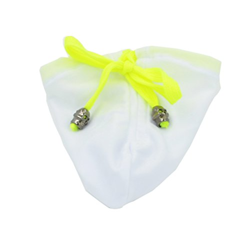 Geoot Men's Sexy Bikini G-strings T-back Underwear Briefs (White)