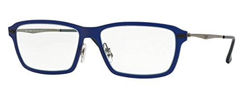 Ray-Ban Eyeglasses RX7038 5451 Matte Dark Blue 53 16 - Ban Aviator Eyeglasses Ray