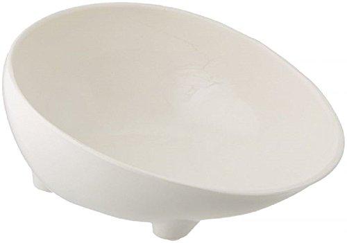Polyester Melamine Scooper Bowl ONLY- White - By Performance Health> Sammons Preston