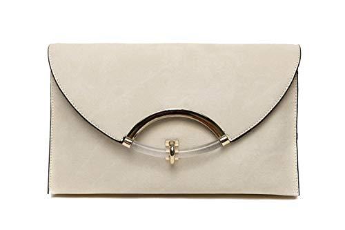 Serrure à Un dans Le 29x3x17cm la Main enveloppé Riz Madame Blanc Bordeaux Sac est dxFqYn1w