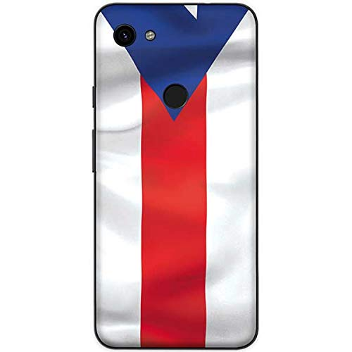 - Skinit Puerto Rico Flag Google Pixel 3a XL Skin - North American Flags Phone Decal - Ultra Thin, Lightweight Vinyl Decal Protection