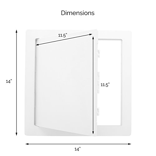 Wall RV White For Drywall And Morvat 12x12 Plastic Access Panel Door Box