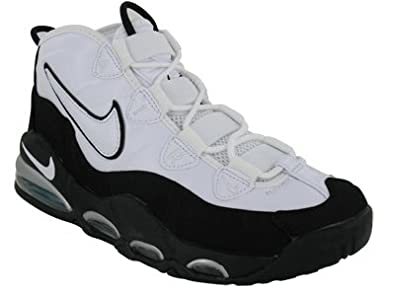 Amazon.com | Nike Air Max Tempo Mens Basketball Shoes White/White-Black-Mystic Teal 311090-100-12 | Road Running